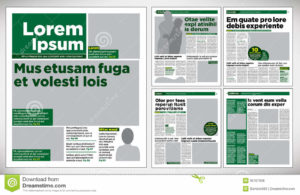 graphical-design-newspaper-green-template-35707906