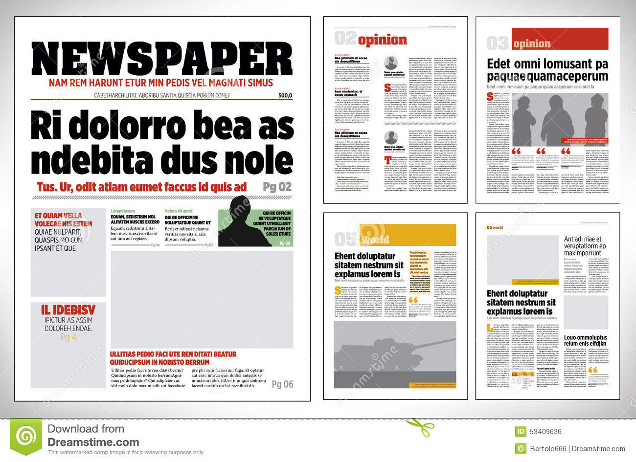 T cnicas de comunicaci n gr fica digital ii 2016 blog for Paper ad design templates